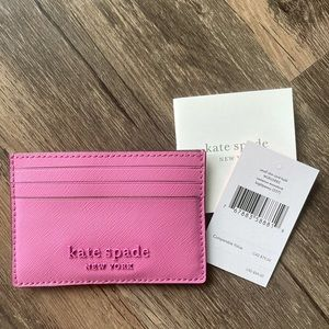 NWT Kate Spade Cameron Monotone Card Holder